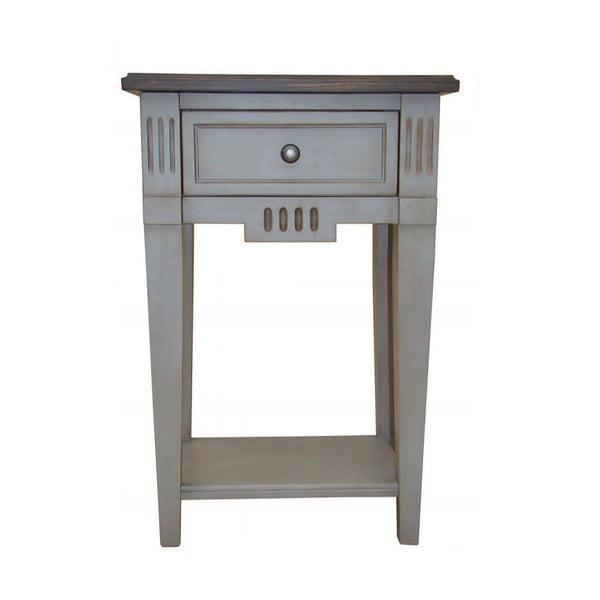 Nočný stolík Belgique Grey
