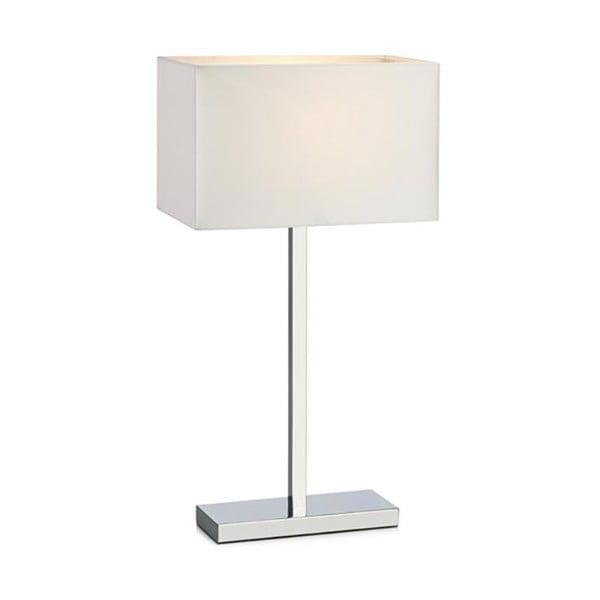 Stolová lampa Savoy, biela