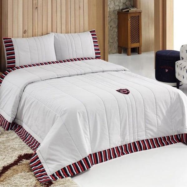 Sada prikrývky cez posteľ a vankúša U.S. Polo Assn. Illinois, 180x250 cm