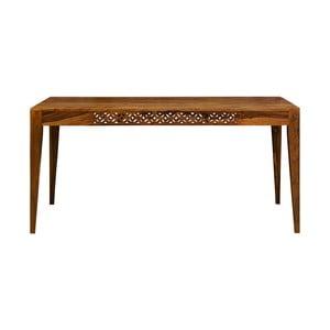 Jedálenský stôl z masívneho palisandrového dreva Massive Home Rosie, 90 x 140 cm