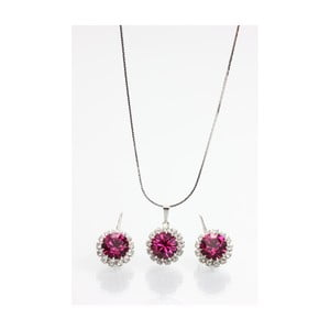 Set náhrdelníka a náušnic so Swarovski Elements Laura Bruni Chendler
