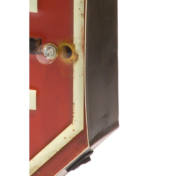 Nástenná svetelná LED ceduľa Novita My Staff, ⌀ 29,5 cm
