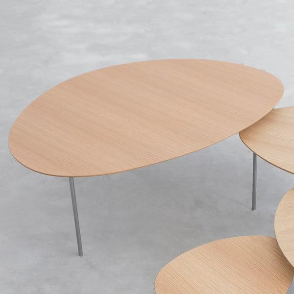 Konferenčný stolík Eclipse Extra Large, dub