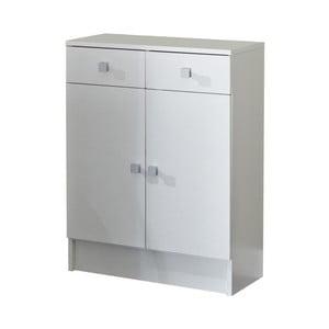 Biela kúpeľňová skrinka Symbiosis André, šírka 60cm