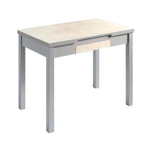 Svetlobéžový rozkladací jedálenský stôl Pondecor Mesa, 60×100cm