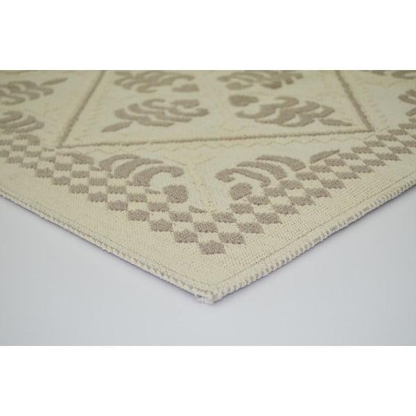 Béžový odolný koberec Vitaus Lulu, 100x150cm