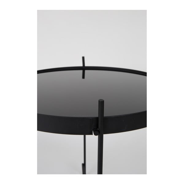 Čierny odkladací stolík Zuiver Cupid