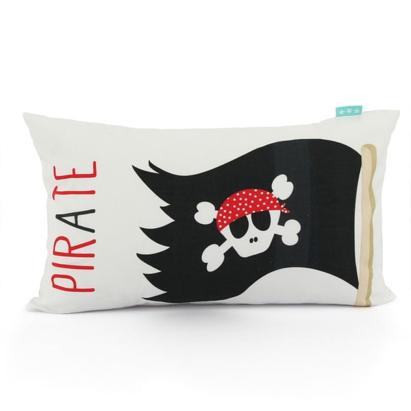 Bavlnená obojstranná obliečka na vankúš Baleno Pirate, 50 x 30 cm
