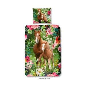Detská bavlnená obliečka na jednolôžko Good Morning Foal, 140 x 200 cm