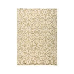 Béžový ručne tkaný koberec Flair Rugs Knightsbridge, 200 × 290 cm