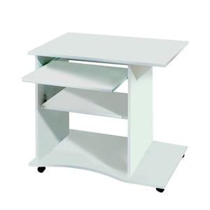 Biely písací stôl na kolieskach 13Casa Office