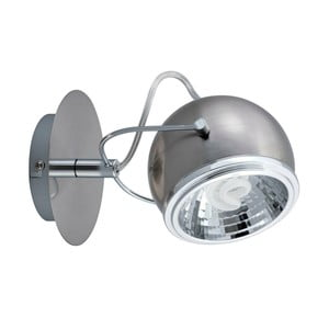 Nástenné svetlo Ball Silver