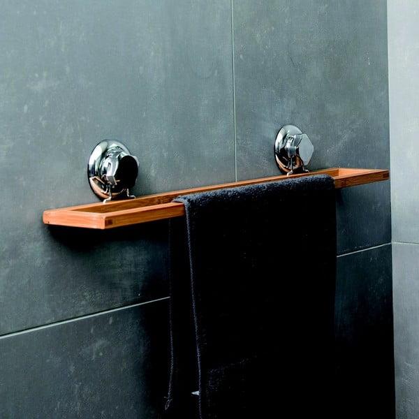 Bambusový nástenný držiak na uteráky Compactor Spa