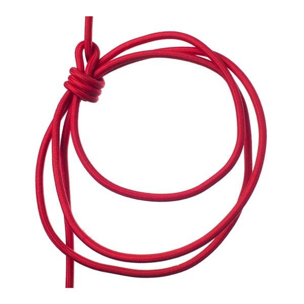 Červené svietidlo od Jakuba Velínského, 1,2 m