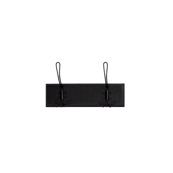 Čierny dvojitý vešiak Nordal Rack