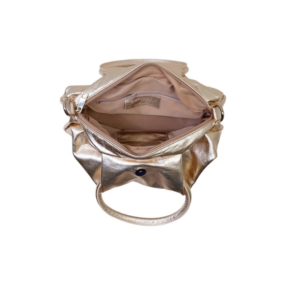 Zlatá kabelka z pravej kože Andrea Cardone Dolcezze ... 912101a5f0d