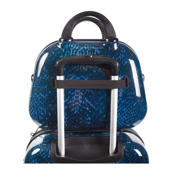 Kozmetická cestovná taška Skpa-T, modrá