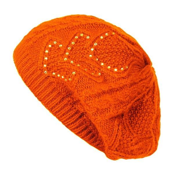 Oranžová čiapka Lavaii Serena