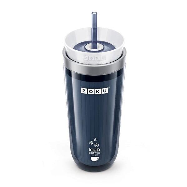 Sivý pohárik na ľadovú kávu Zoku Iced Coffee