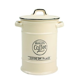 Krémová keramická dóza na kávu T&GWoodware Pride of Place
