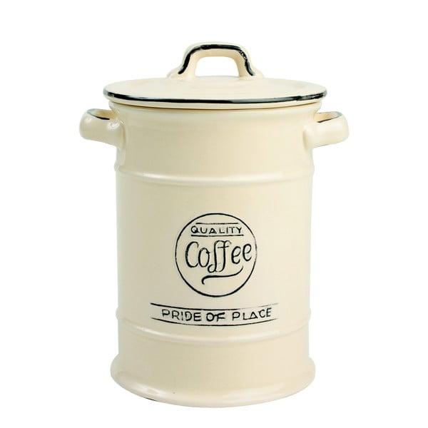 Krémová porcelánová dóza na kávu T&G Woodware Pride of Place