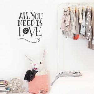 Dekoratívna samolepka na stenu All You Need