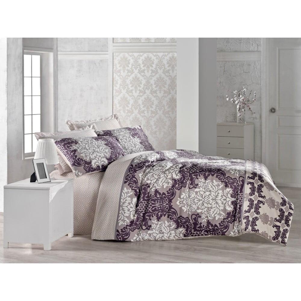 Bavlnené obliečky na dvojlôžko Alye, 200 × 220 cm