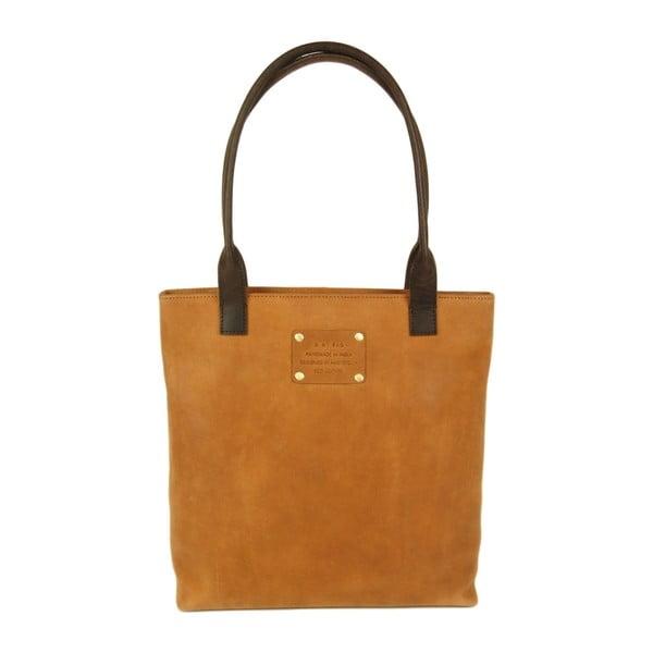 Kožená kabelka O My Bag Posh Stacey midi, ťavia