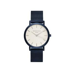 Bielo-modré dámske hodinky Rosefield The Mercer