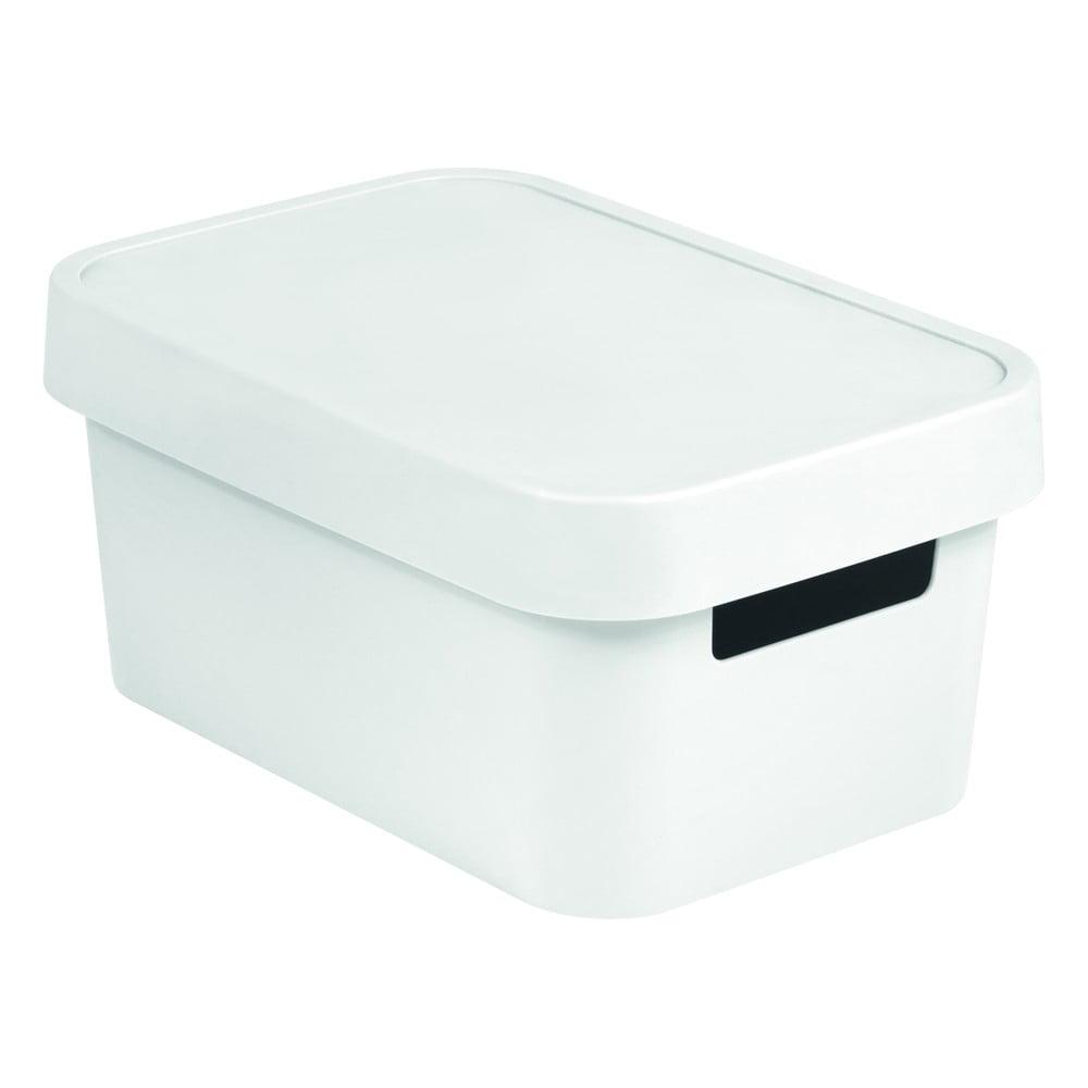 Biely úložný box Curver SIMPLE Gordinho