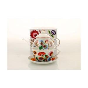 Porcelánový set na čaj pre jedného Duo Gift Lowicz