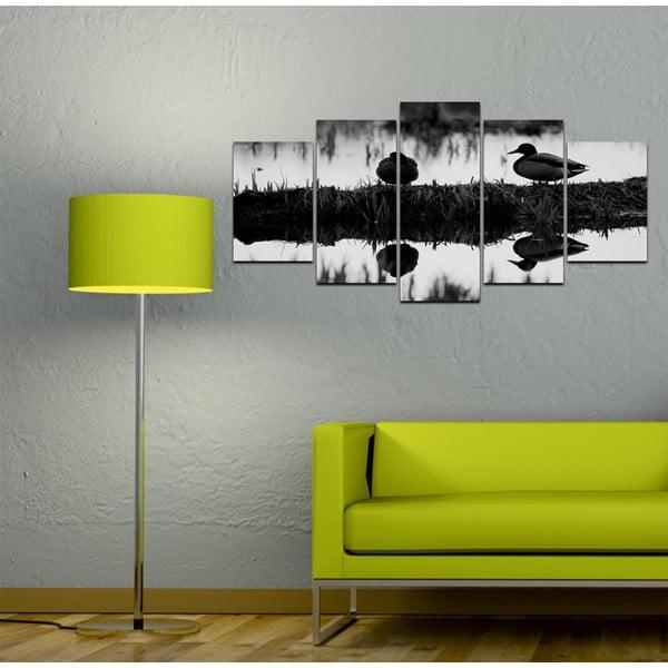 Viacdielny obraz Black&White no. 87, 100x50 cm
