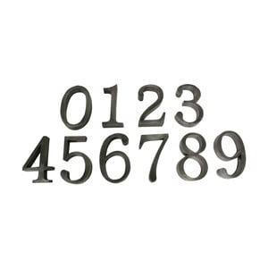 Sada 9 dekoratívnych čísiel Antic Line 0 až 9