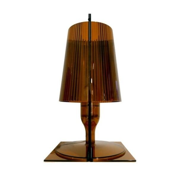 Hnedá stolová lampa Kartell Take