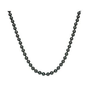 Perlový náhrdelník Muschel, zelené perly 8 mm, dĺžka 45 cm
