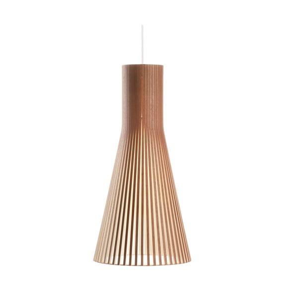 Závesné svietidlo Secto 4200 Walnut, 60 cm