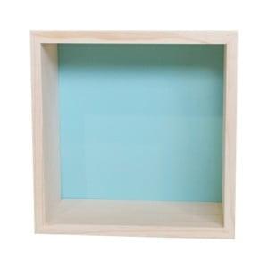 Dekorácia Cubo Nordic Aqua M