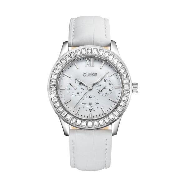 Dámské hodinky Arabesque Silver White, 40 mm