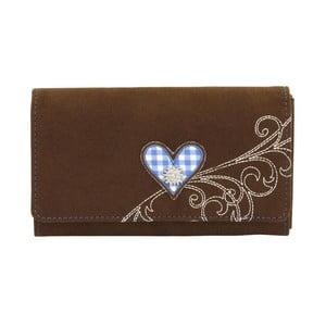 Dámska peňaženka Bavaria Brown/Blue