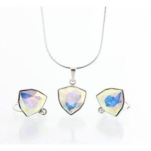 Set náhrdelníku a náušníc Laura Bruni Geometric Multi