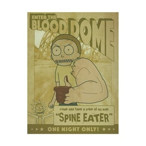Obraz Pyramid International Rick and Morty Enter The Blood Dome, 60 × 80 cm