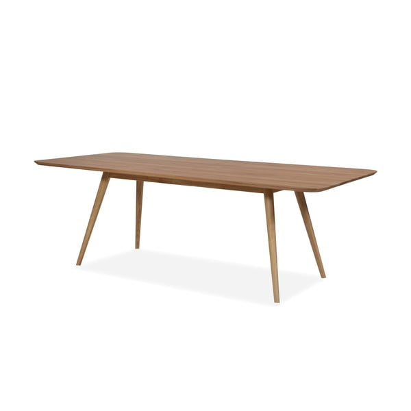 Jedálenský stôl z dubového dreva Gazzda Stafa, 160 x 90 x 75,5 cm