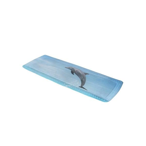 Kúpeľňová predložka Delfin Blue, 36x92 cm