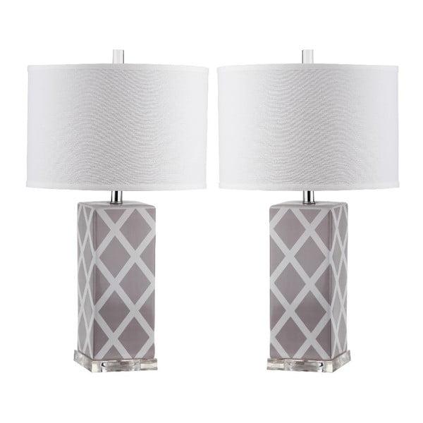 Sada 2 stolových lámp Safavieh Beaumont
