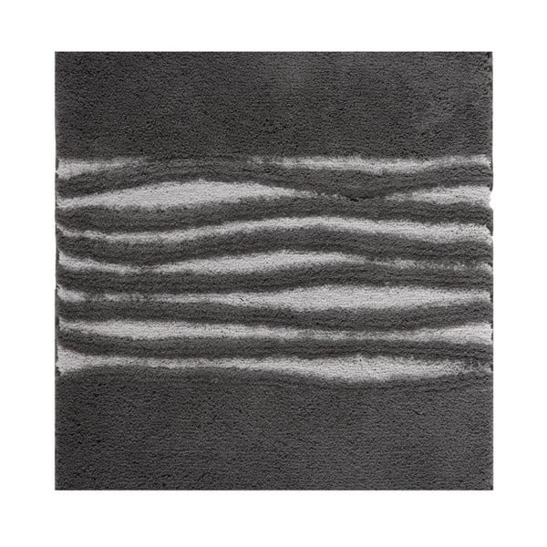 Kúpeľňová predložka Morgan Dark Grey, 60x60 cm
