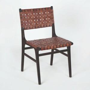 Kožená stolička Thai Natura