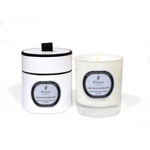 Sviečka s vôňou jazmínu, pačuli a citrónu Parks Candles London Aromatherapy, 50hodín horenia