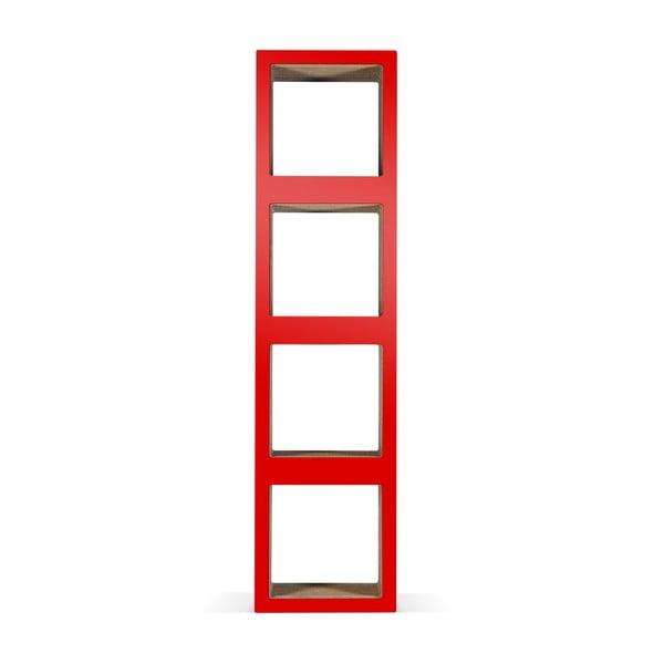 Kartónová knižnica Bit Quattro Red