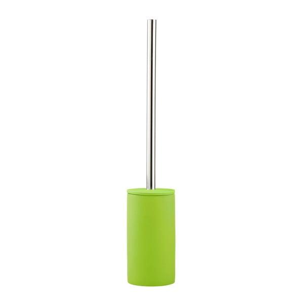 Toaletná kefa Confetti, limetkovo zelená