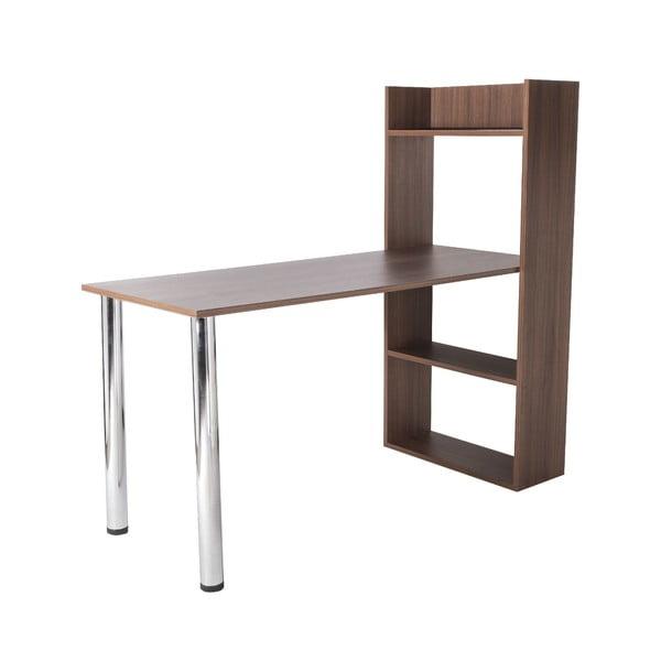 Pracovný stôl Flamingo Walnut